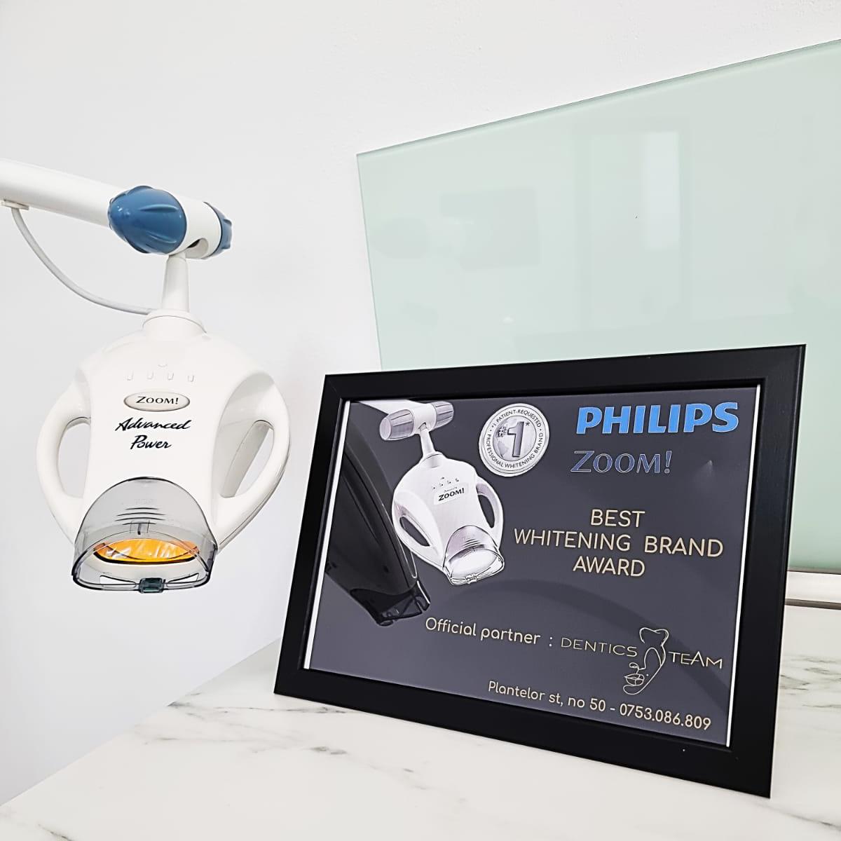 Lampa Philips Zoom Dentics Team